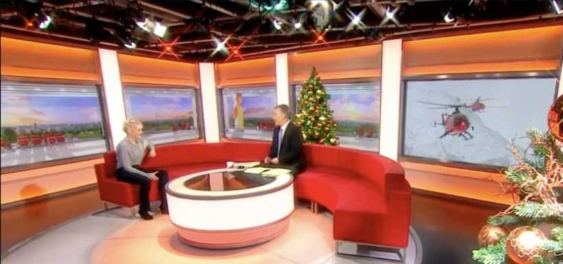BBC Breakfast features Habitat Restoration project