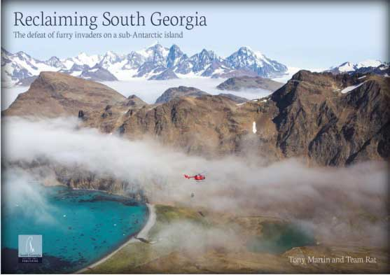 Reclaiming South Georgia named in Top Tenbest bird books of 2016!!
